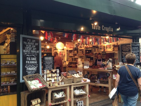 A shop for all things Croatian. Definitely try the chocolate hazelnut spread.