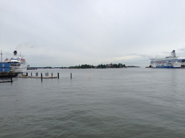 The dock where you can pick up your ferry of choice.