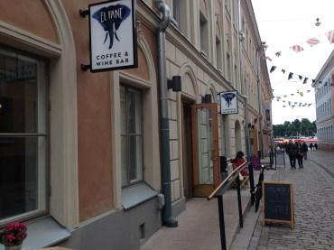 El Fant near the Market Square in central Helsinki.