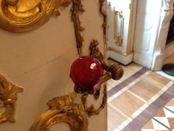 The ornate doorknobs.