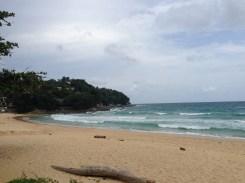 A full view of Kata Beach.