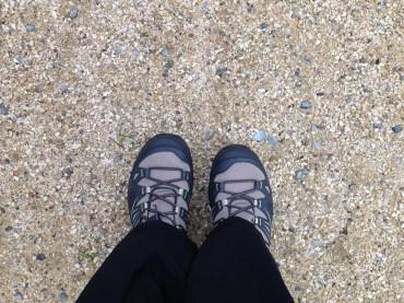 First trail walk.