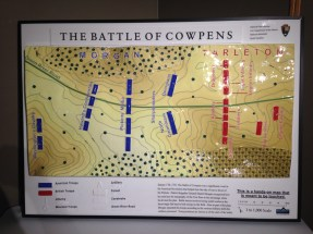 A map depicting the battle.