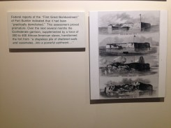 Pictures of the fort with description.