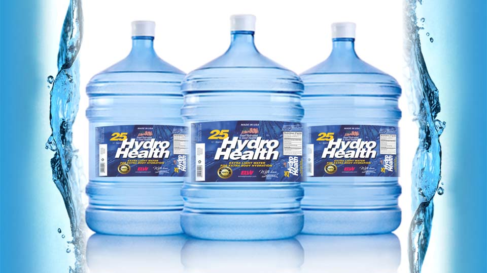 25 HydroHealth 5 Gallons Water Jugs 1
