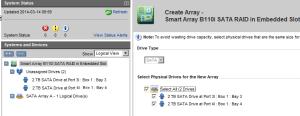 create-array-select-drives