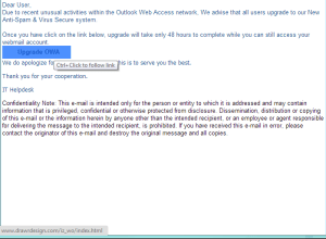 OutlookWebAccessScam