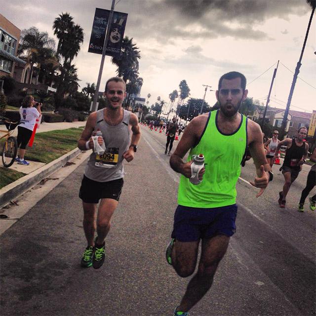 Long Beach Marathon mile 25
