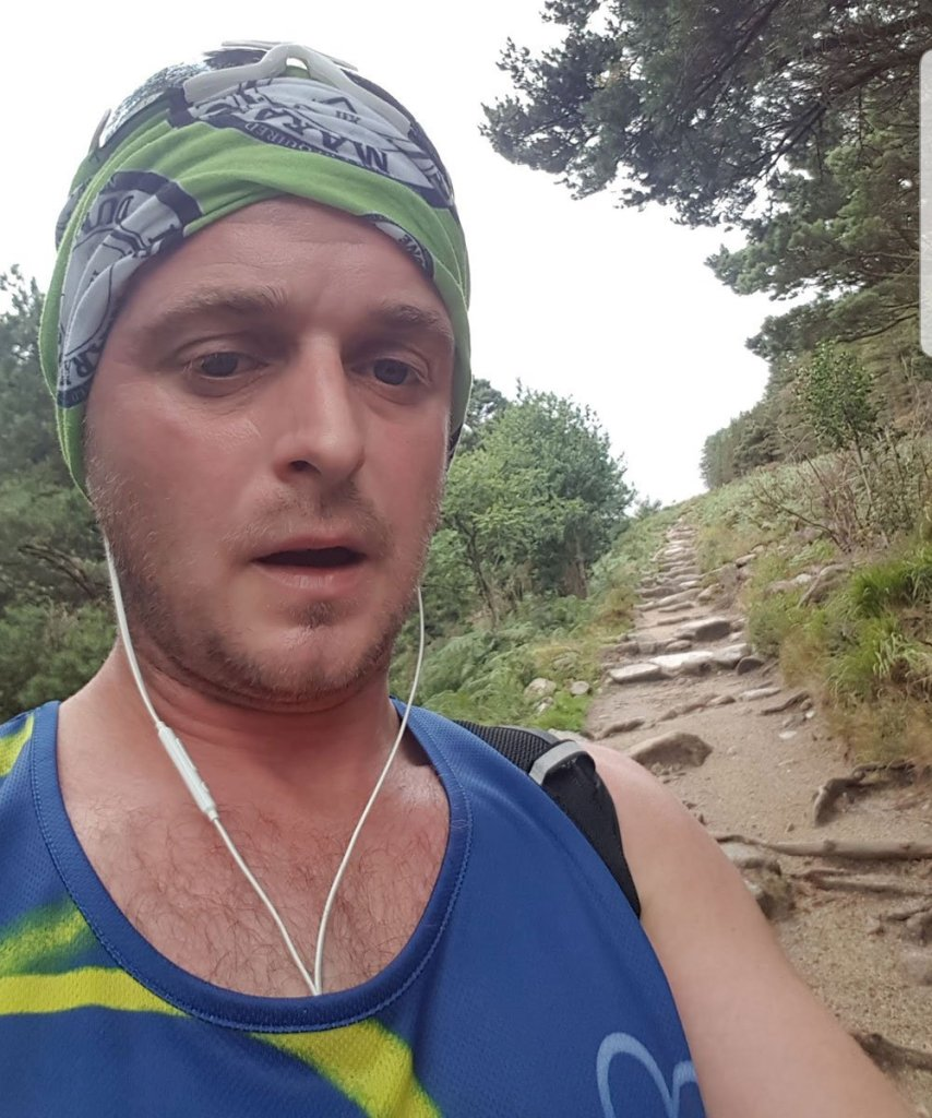 Trail Run in the Mourne Mountains