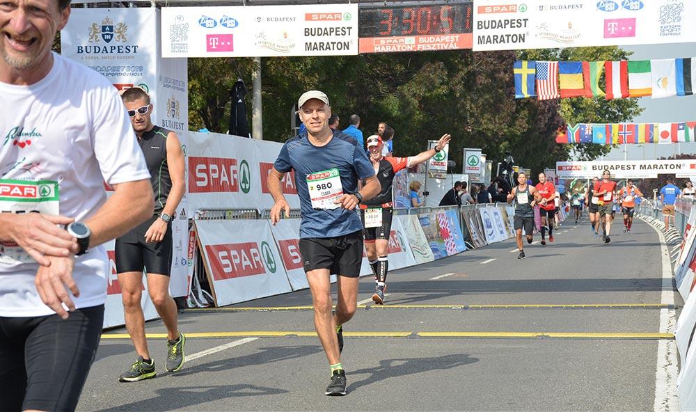 Csaba budapest marathon