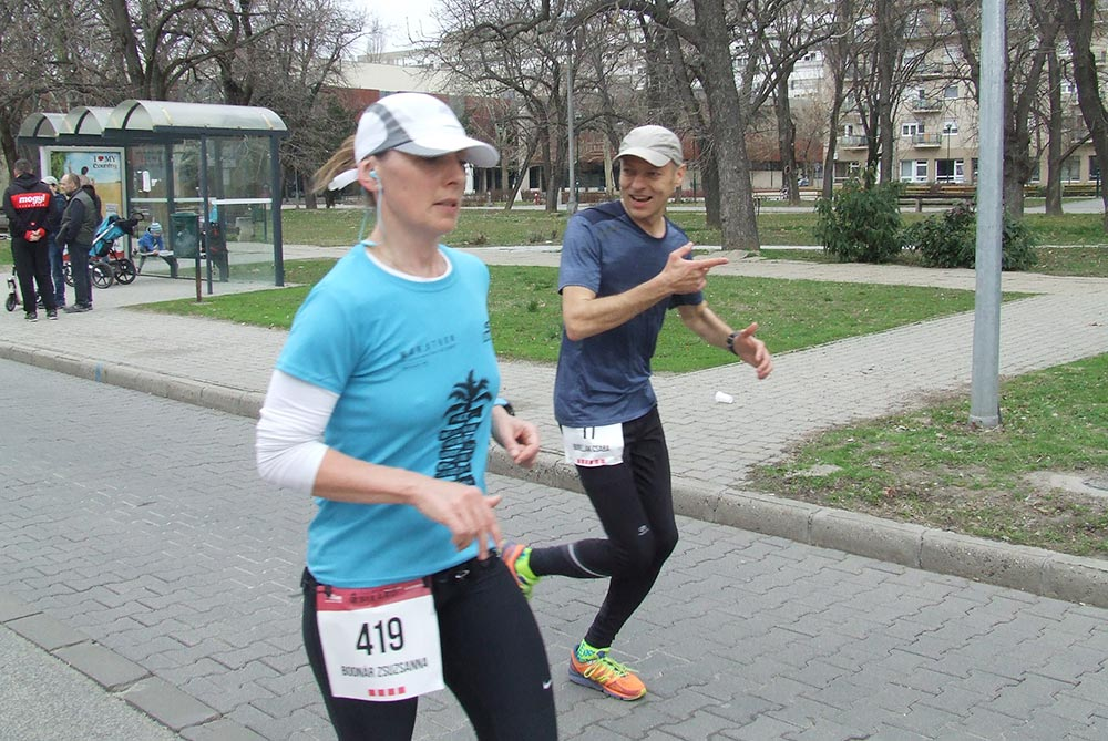 csaba running marathon