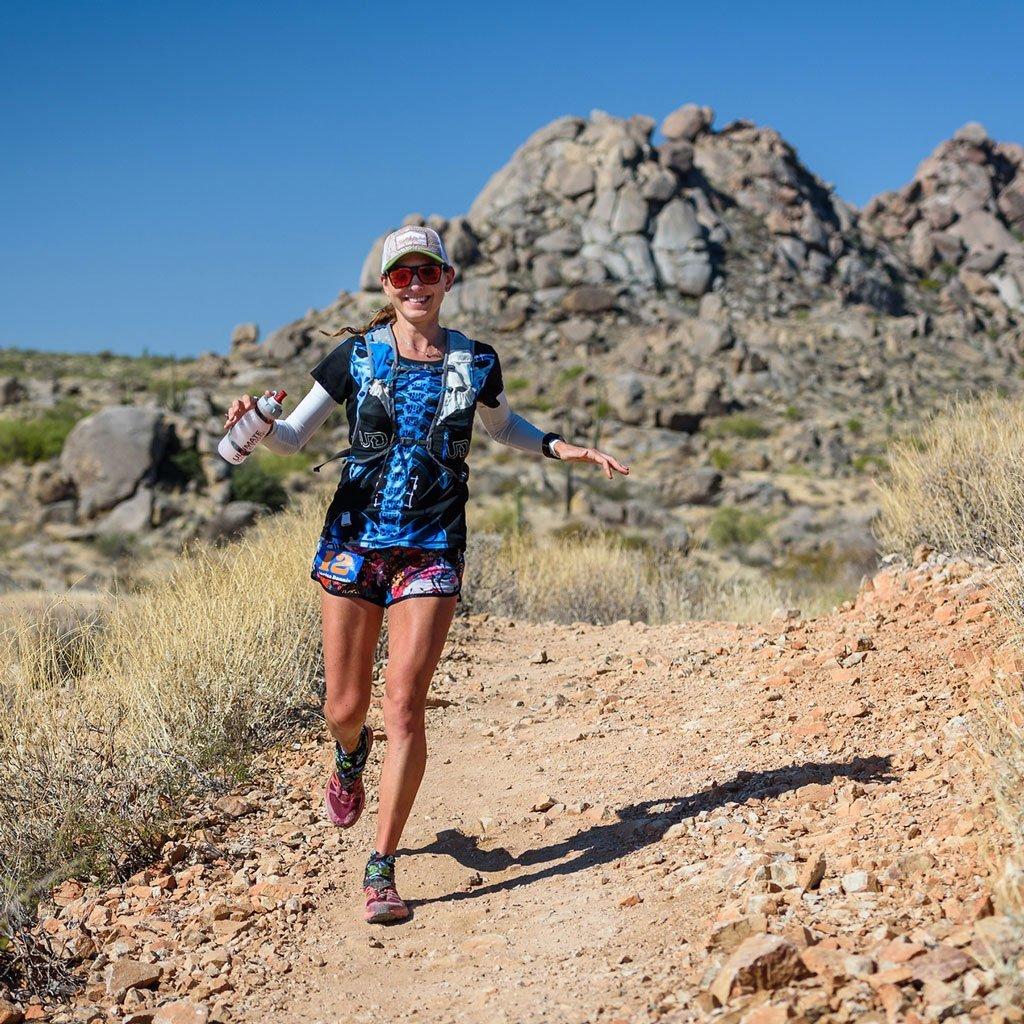 Larisa Dannis running trails