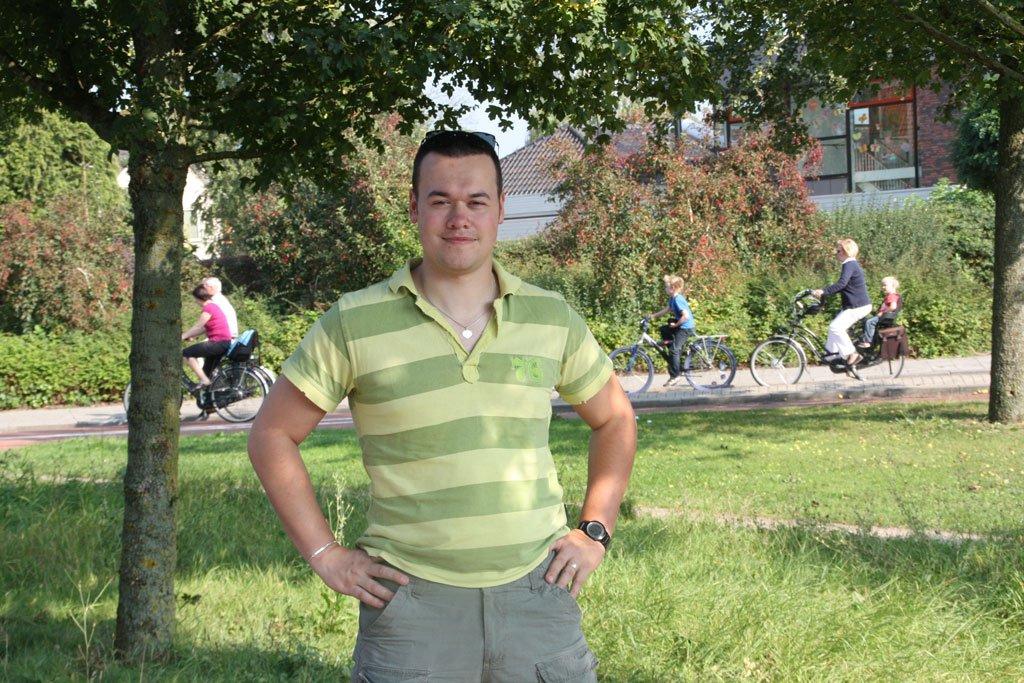 Jeroen Pieter van der Vliet before he started running