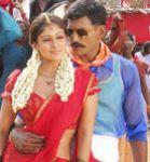 Nayanthara with Vishal in Sathyam Movie