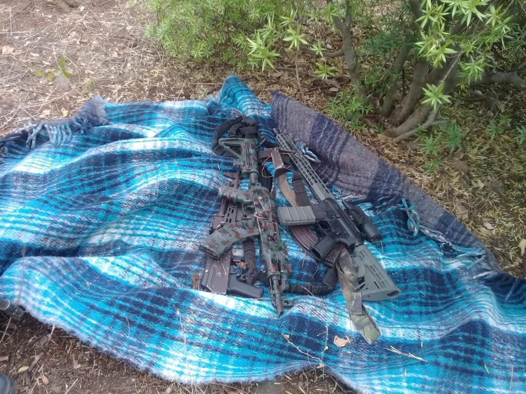 BOMU asegura varias armas de uso exclusivo del Ejército en Culiacán