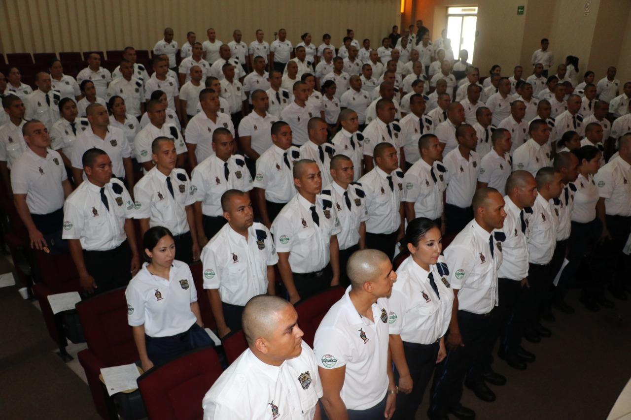 Llegan al Inecipe 210 nuevos cadetes, quienes se formarán para ser policías de las distintas corporaciones de Sinaloa