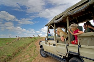Luxury safari at Olonana