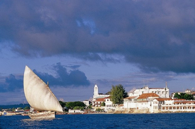Zanzibar Serena Inn from the Sea