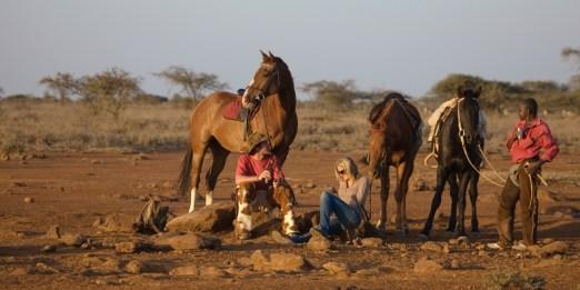 Riding Safari at Ol Malo