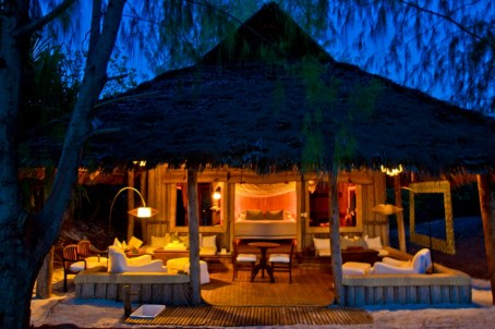 Banda at Mnemba Island Lodge