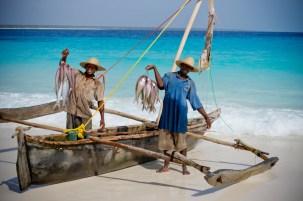 Fishermen at Mnemba Island Lodge