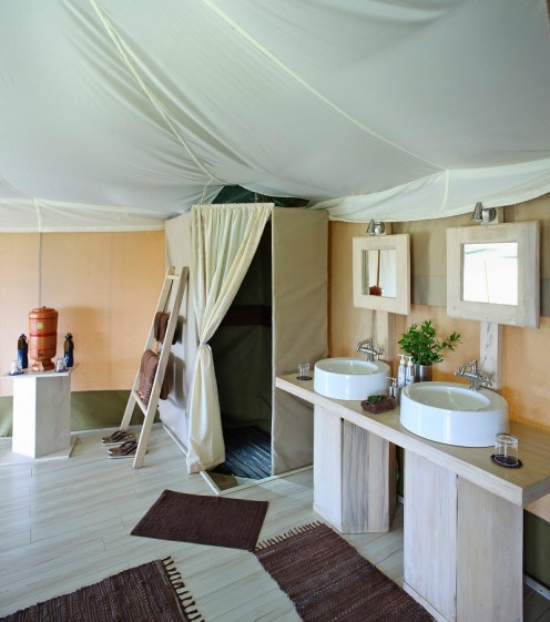 Bathroom at Kicheche Valley Camp
