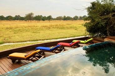 Pool at Lion Camp