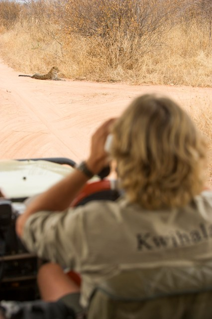 Game drive from Kwihala