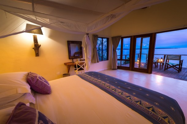 Suite at Pumulani Lake Malawi