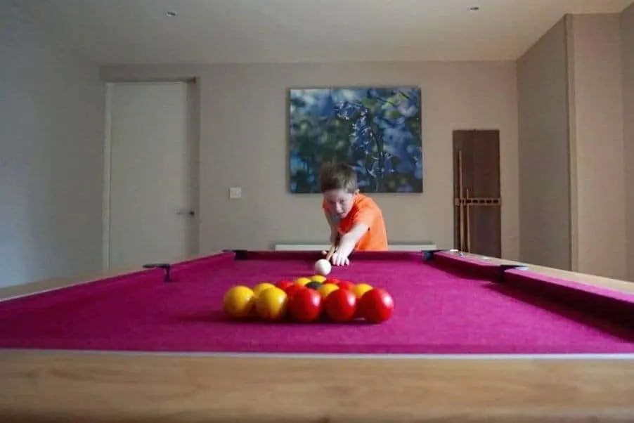 A look around the 4 Bedroom Executive Games Room Lodge at Center Parcs, Whinfell Forest www.extraordinarychaos.com