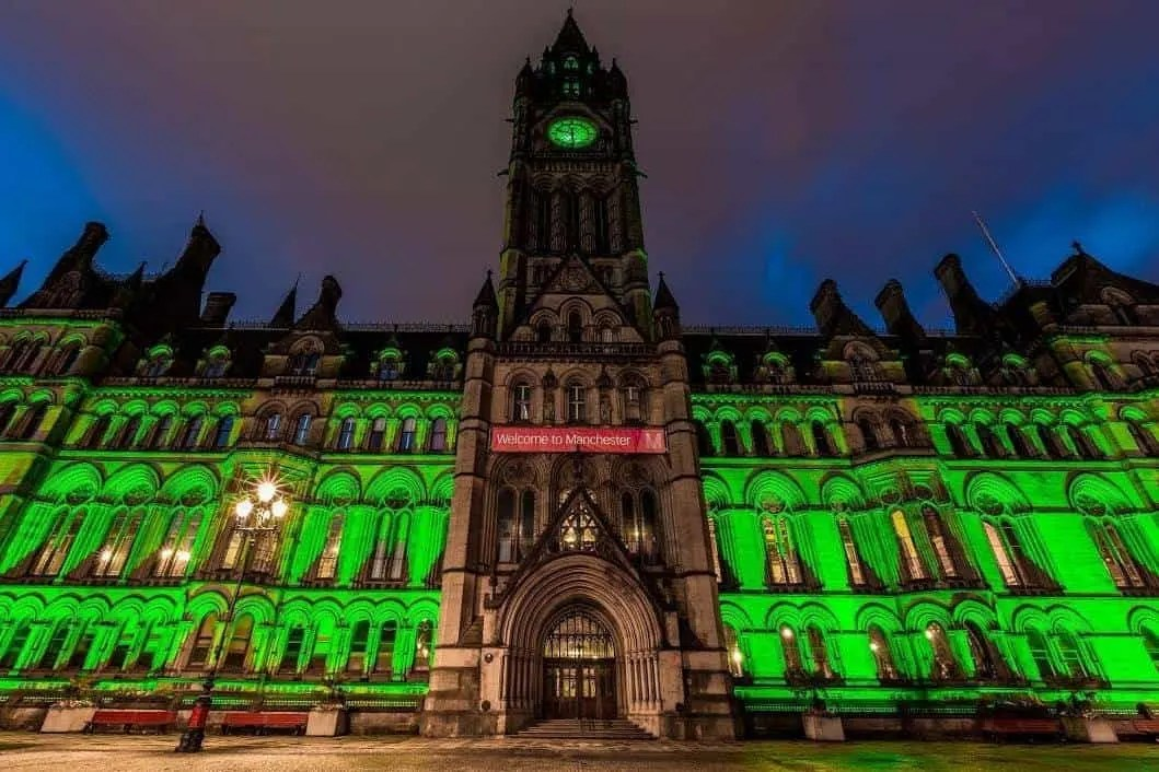 What on at Halloween In Manchester City Centre
