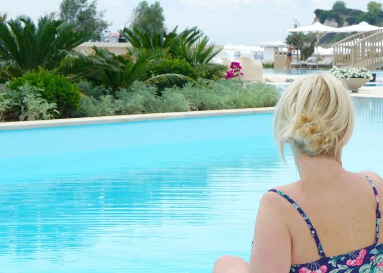 The Deluxe pool at Sani Dunes Resort Halkidiki extraordinarychaos.com
