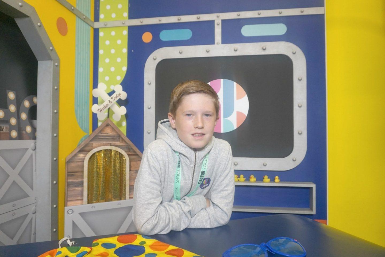 Visiting the BBC and the CBBC tour www.extraordinarychaos.com