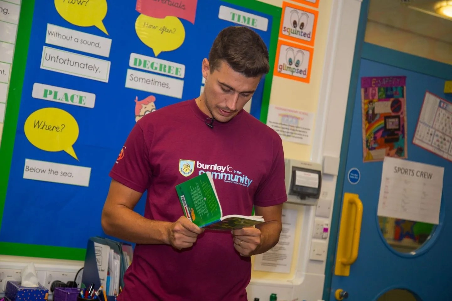 Matt Lowton -Premier League Writing Stars, A Poetry Competition for Children www.extraordinarychaos.com
