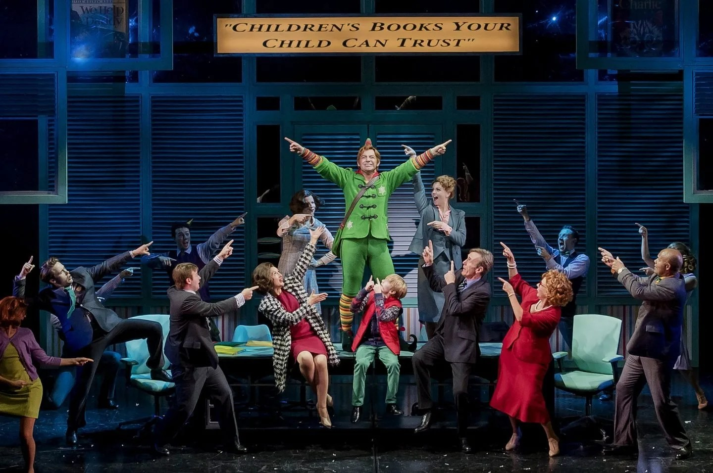 A review of Elf The Musical at the Lowry