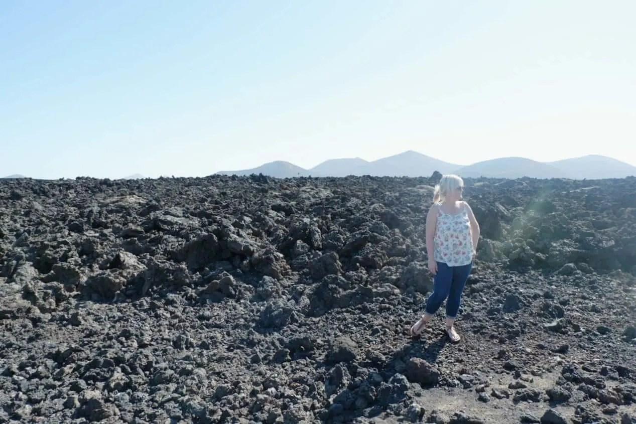 Volcanos in Lanzarote