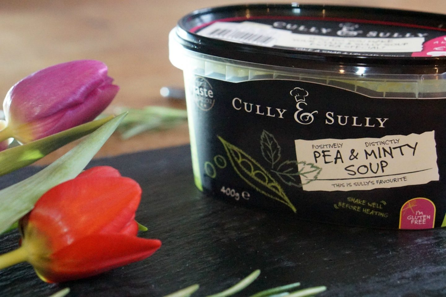 Delicious Cully and Scully Pea and Minty Soup www.extraordinarychaos.com