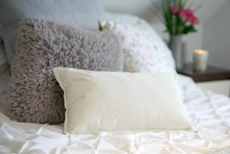 White Pin-tuck Bedding from Sainsburys www.extraordinarychaos.com