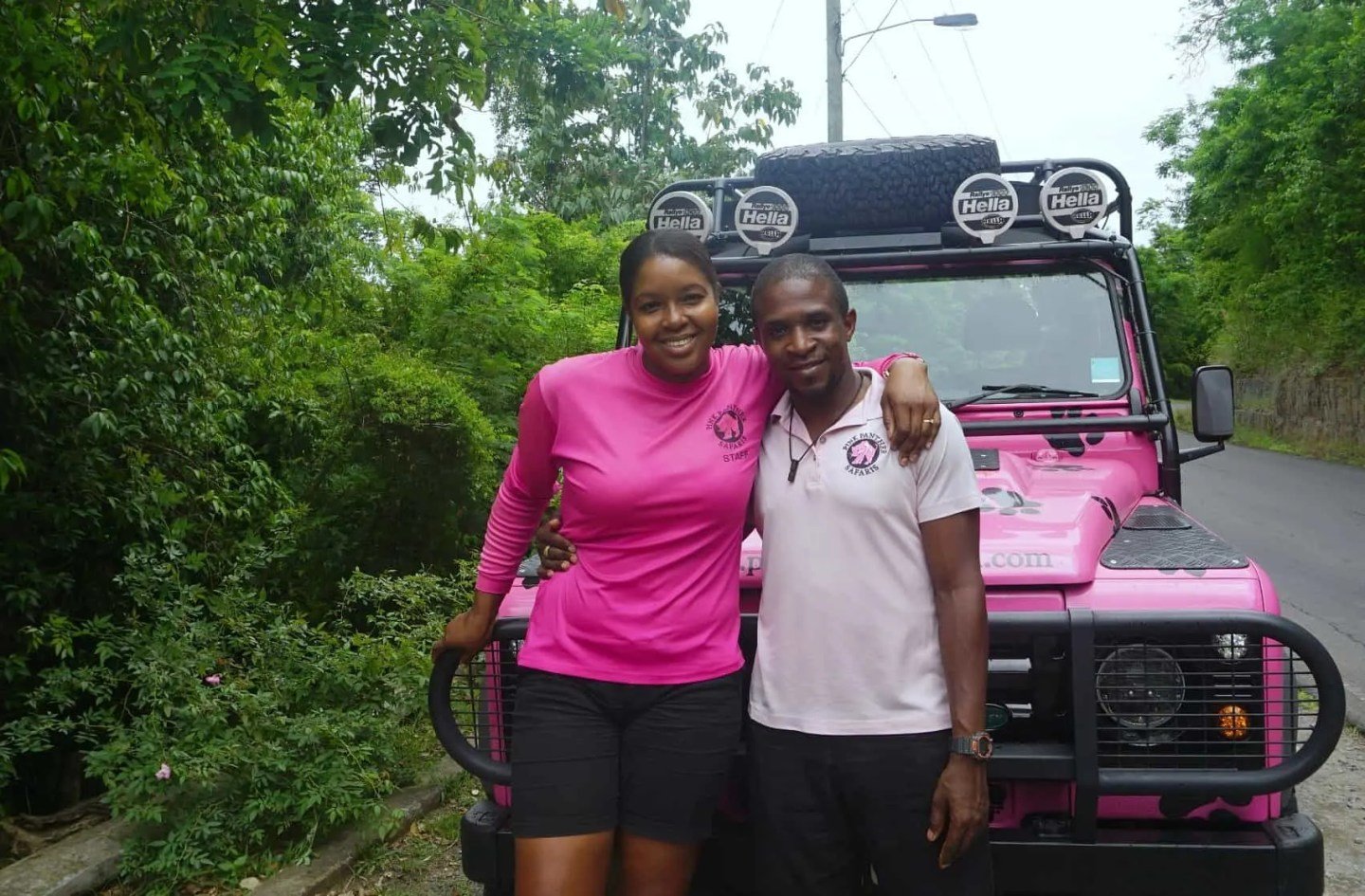 Our guides on the Pink Panther Tour www.extraordinarychaos.com