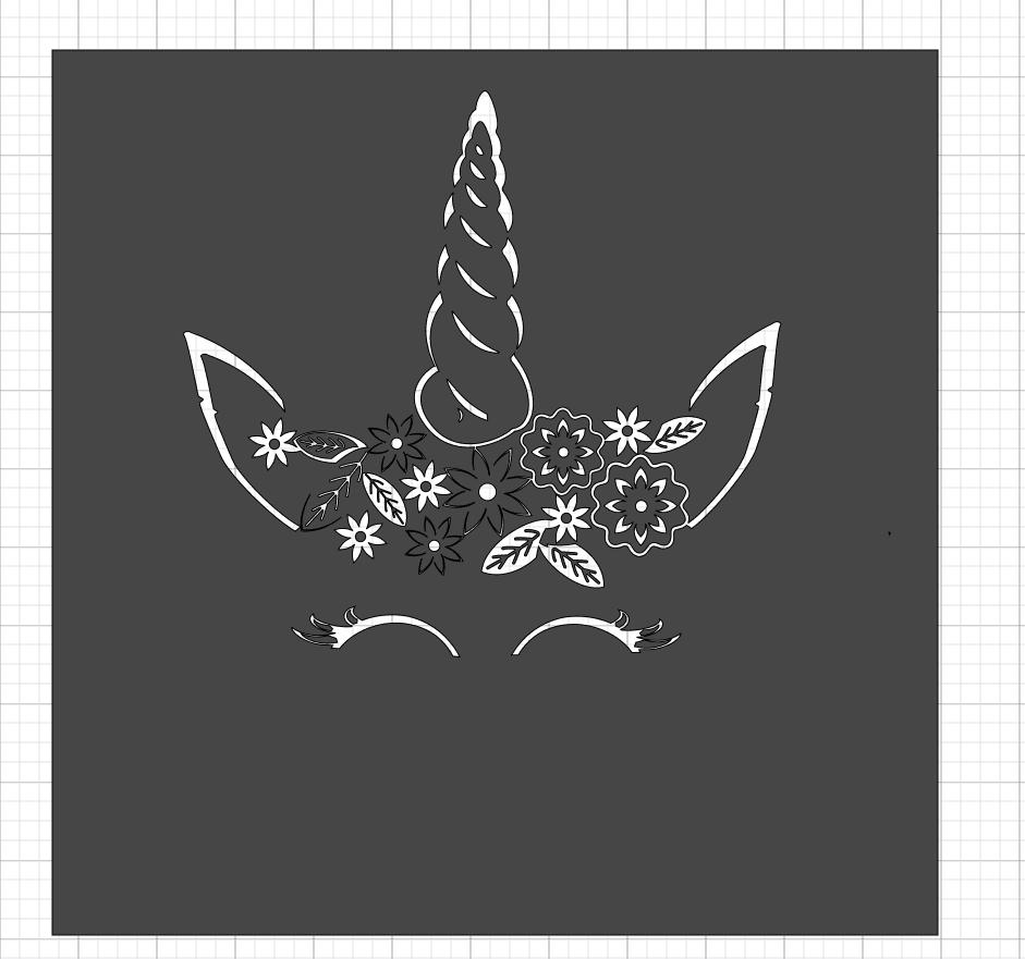 Making A Unicorn Papercut With the Cricut Maker