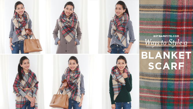 Video: How To Style A Blanket Scarf Or Square Scarf
