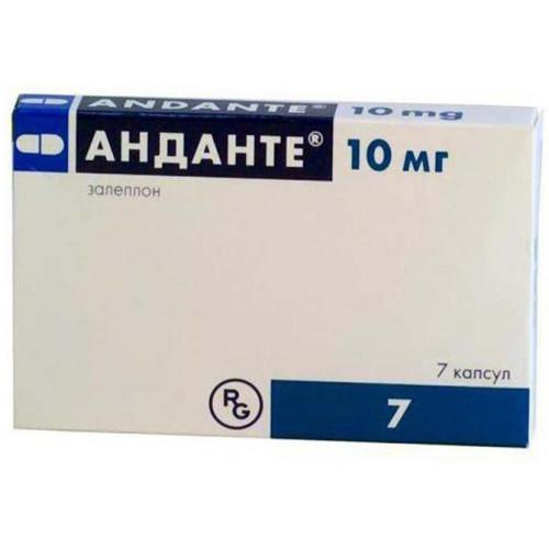 Andante® [Zaleplon]   Sleeping pill without prescription ...