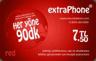 Her Yöne 90 Dakika Telefon Kartı