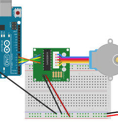 connection diagram for stepper driver and arduino uno [ 1893 x 1278 Pixel ]