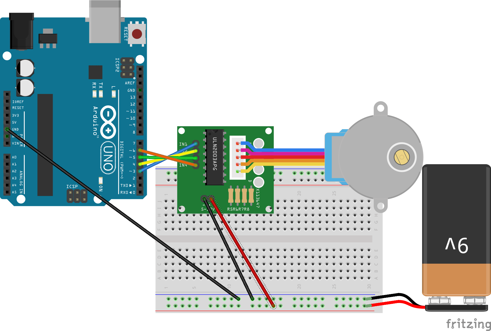 hight resolution of connection diagram for stepper driver and arduino uno