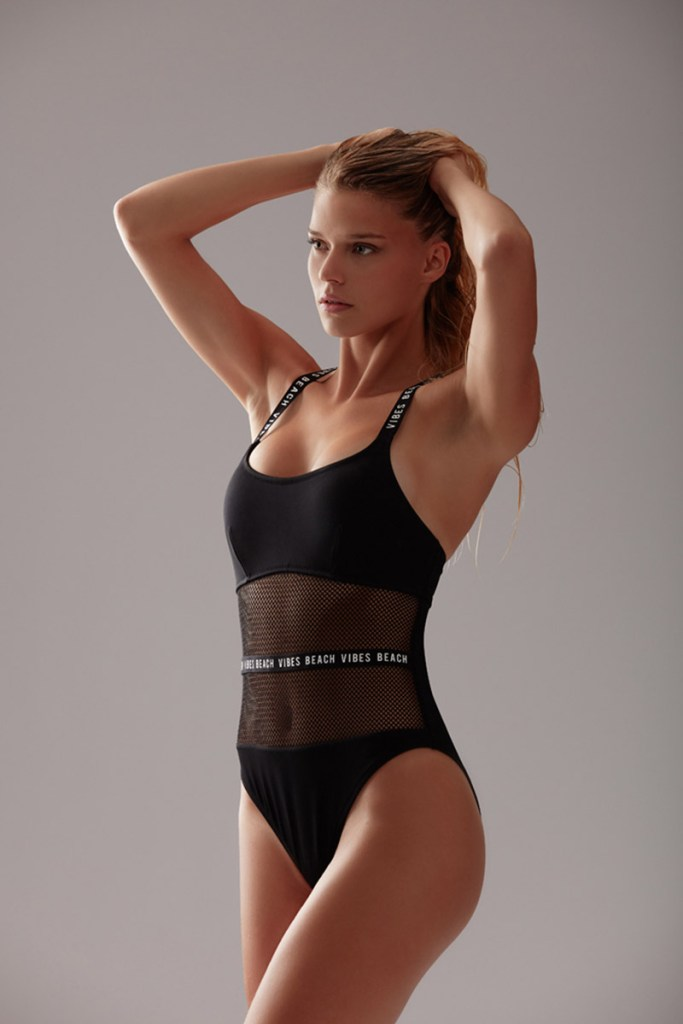 angelina laurent maillot sportswear black
