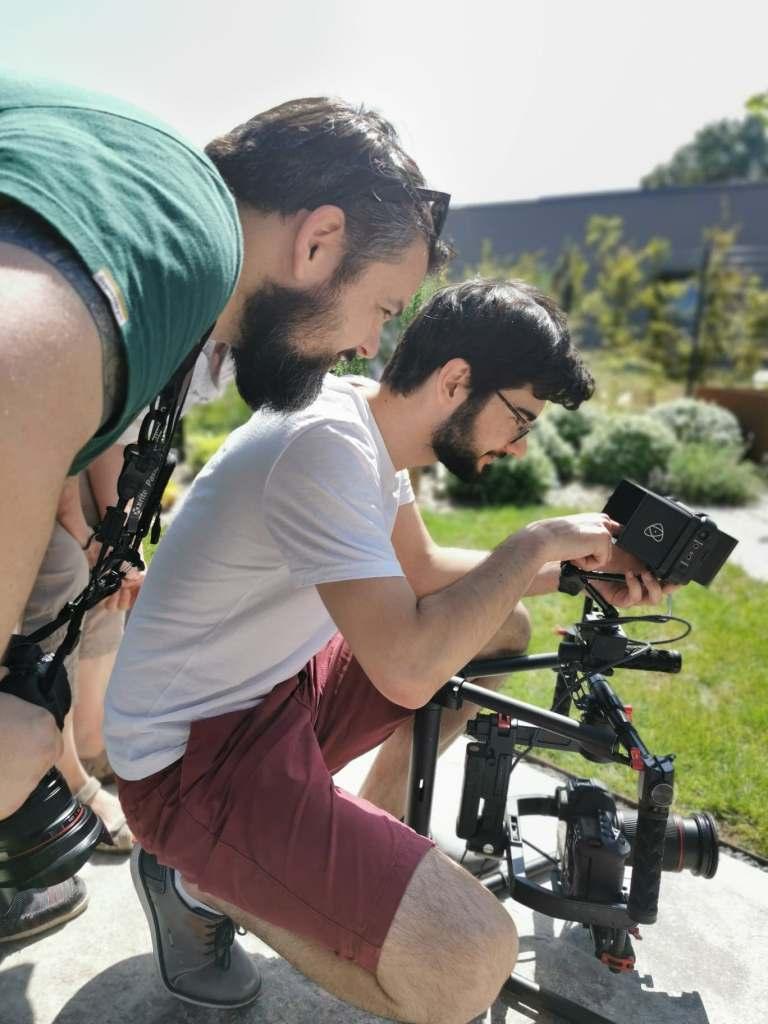 Vidéo publicitaire : making of
