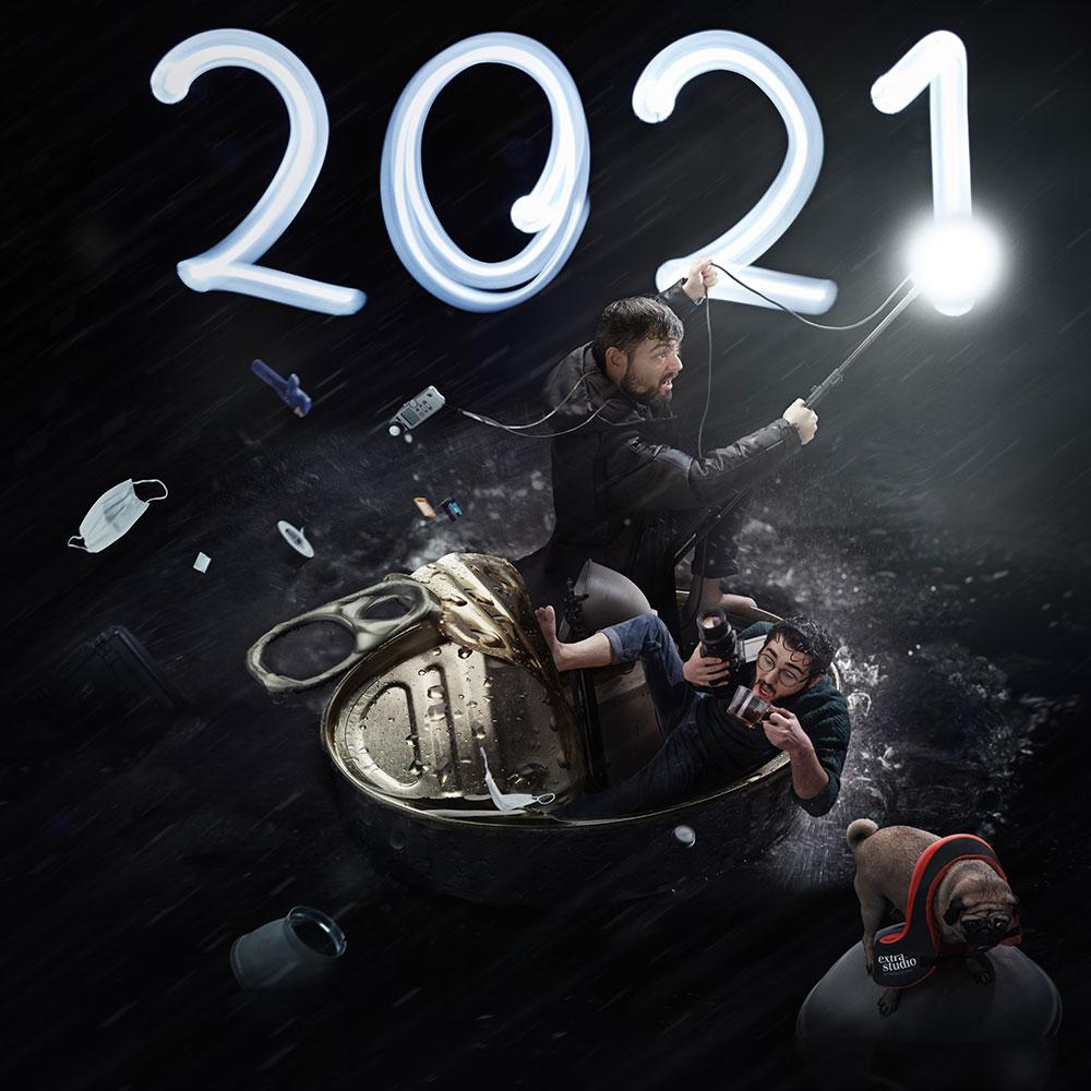 carte de voeux 2021 extra studio waap!