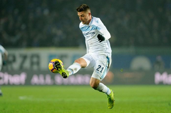 Tottenham declare interest in Sergej Milinkovic-Savic