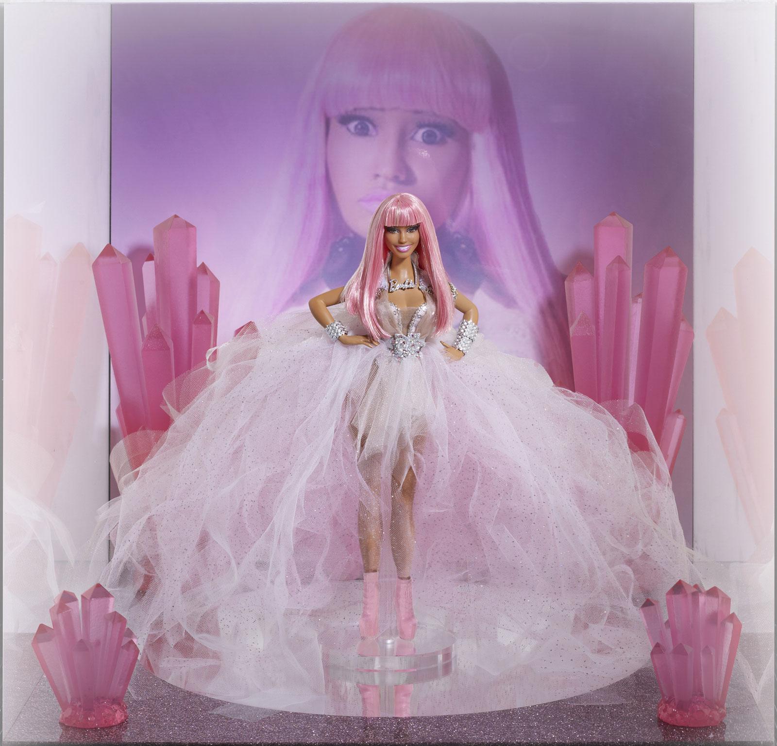 Nicki Minaj And Katy Perry Barbie Doll Goes Under The
